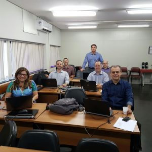 Auditores reunidos em Vitória, no Espírito Santo